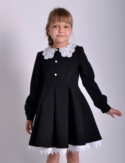 Школьное платье Милана черное