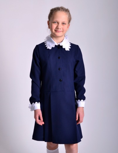 Школьное платье Полина с...