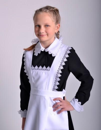 Школьный Фартук Классика белый