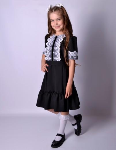 Школьное платье Софи черное
